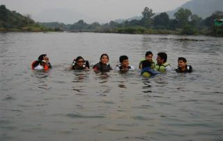 River Crossing at Ecomantra Experiential Eco Camps & Resorts