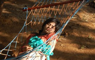 Relaxing on the Hammocks at Ecomantra Experiential Eco Camps & Resorts