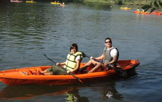 Kayaking at Ecomantra Experiential Eco Camps & Resorts