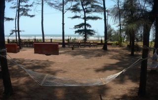 Seaside Lounge and Hammock at Ecomantra Experiential Eco Resort