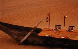 Beach Dining at Ecomantra Experiential Eco Camps & Resorts