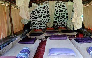 Interiors of Ecomantra Experiential Eco Camp