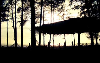 Sunset Lounge at Ecomantra Experiential Eco Resort