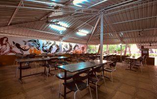 Seaside Restaurant at Ecomantra Experiential Eco Resort