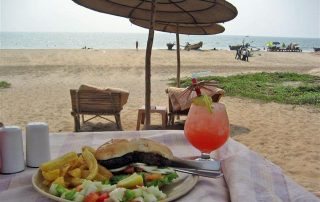 Seafood at Ecomantra Experiential Eco Camps & Resorts