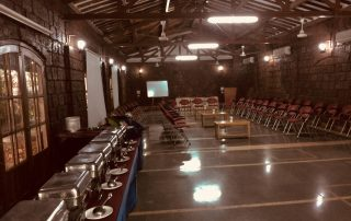 Conference and Buffet at Ecomantra Experiential Eco Resort