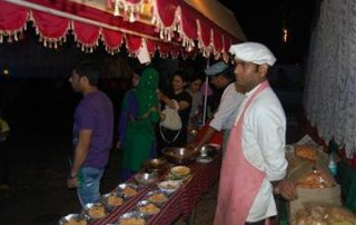 Buffet at Ecomantra Experiential Eco Camp & Resorts
