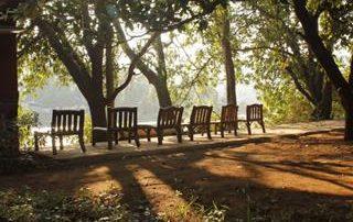 Seating at Ecomantra Eco Camp