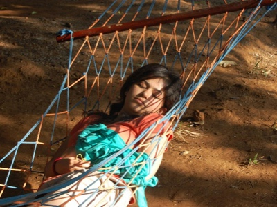 Youth Camp - Napping in the Hammocks