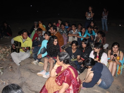 Youth Camp - Campfire