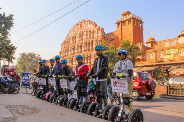 Electric Heritage Tours on Segways in Jaipur